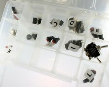 Component Kit Do-It-Yourself Switches Capacitors SPST DPDT Film Electrolytic 3A