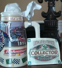 Budwieser official beer NASCAR 50th anniversary stein.