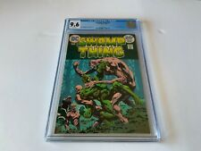 SWAMP THING 10 CGC 9.6 WHITE PAGES BERNIE WRIGHTSON DC COMICS 1974