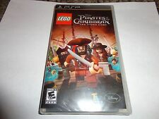 LEGO Pirates of the Caribbean:The Video Game (PlayStation Portable, 2011)NEW PSP