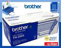 Brother GENUINE TN-2025  Black Toner Cartridge Yields 2,500 Pages