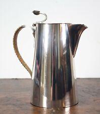 More details for antique (c1900) hukin & heath - christopher dresser - coffee pot - bean handle
