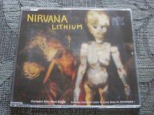 Nirvana:  Lithium   UK CD Single     NM