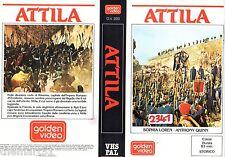 Attila (1954) VHS  Golden Video  A. Quinn S. Loren