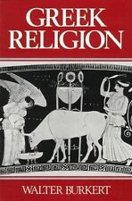 Greek Religion by Walter Burkert (Paperback, 1987)