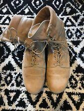 US Army Hot Weather Combat Boots Bates Gore-Tex  Men's size 13.5 Vibram Soles