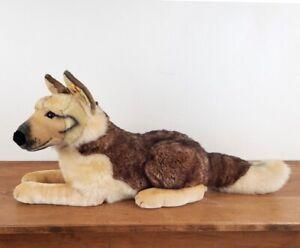 Steiff German Shepherd Dog Plush Stuffed Animal, American Kennel Club AKC