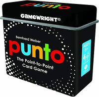 PUNTO The Point-to-Point Card Game in Tiny Tin Gamewright GWI 255D Family