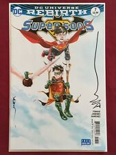 Supersons #7 SIGNED By Dustin Nguyen DC Comics