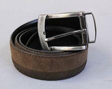 Alesbury Accessories Men's Grant Reversible Leather Belt JM4 Brown Size 38 NWT