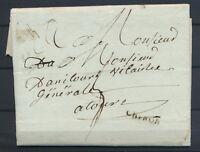 1815 Lettre marque linéaire CHINON 24x3mm INDRE-ET-LOIRE(36) TB. F122