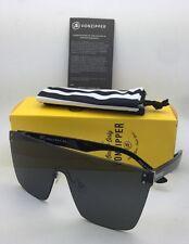 ba23c34ac5 New VONZIPPER Shield Sunglasses VZ ALT DONMEGA Gloss Black Frames w  Grey  Lenses