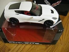 2016 C7 C-7 Corvette Stingray Coupe white promo model car Chevy Chevrolet