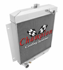 Champion 3 Row Aluminum Radiator for 1954 1955 1956 Ford Cars