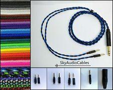 Benutzerdefinierte Kopfhörer Kabel - 2 x 3.5mm HIFIMAN he400i amiron Focal befördert Sony z7