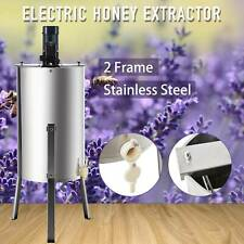 2-Frame Electric Honey Extractor Beekeeping Equipment Stainless Steel Honeycomb