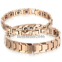 Men Women Tungsten Carbide Magnetic Therapy Bracelet for Arthritis Pain Relief