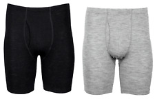 100% merino wool DILLING men's TRUNKS with fly Base layer (139)