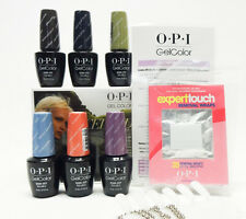 OPI Nail GelColor ICELAND Gel Color Collection Kit #2 6ct ~ No Box ~
