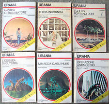 1975 6 ROMANZI URANIA numeri 668, 673, 680, 682, 690, 695 VANCE LEINSTER LAUMER