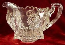 Carnation Creamer New Martinsville #88 Early American Pattern Glass (O2) AS IS