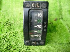 ww2 raf spitfire oil pressure gauge dated1945 nice condition