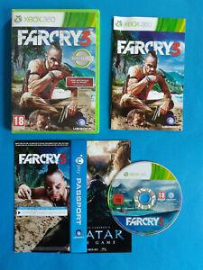 Videogame FARCRY 3 xBOX 360 Ubisoft Jeux Gioco no cd lp mc vhs (D4)