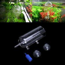 Aquarium Verre Bulle de diffuseur de CO2 Pierre à air Purge Aération à l'oxygène