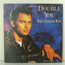 """Double You – Who's Fooling Who (Vinyl, 12"""", Maxi 33 Tours)"""