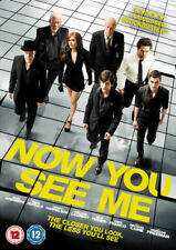 Now You See Me (DVD, 2013) Isla Fisher Michael Caine Morgan Freeman