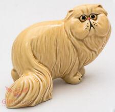 Porcelain Figurine of Persian Cat Kitty Kitten