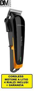 GIUBRA LASER 6.0 WIRELESS TOSATRICE CORDLESS PROFESSIONALE HAIR CLIPPER A LITIO