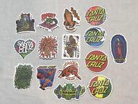 Santa Cruz Laptop/Skateboard/ Guitar/Luggage Decals/Stickers - Your Choice!