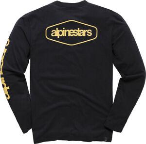 Alpinestars Men's Outland Long Sleeve Tee T-Shirt (Black) S