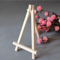 Mini Wooden CafeTischnummer Staffelei Hochzeit OrtName Kartenhalter Stand MA7 FL