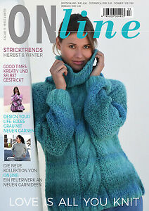 *ONline Stricktrends 53 Herbst/Winter Strickmagazin Anleitungen Stricken