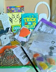 Halloween Craft Box - 10 Projects per box