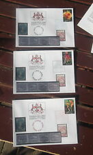 Set Of Tasmania 2003 Phil Ex Postmarked Covers Each Day Diff Colour Ink