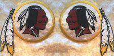 "Washington Redskins 3.5"" Iron On Embroidered Patch SET ~USA Seller~FREE Ship"