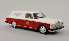 wonderful modelcar Rolls Royce Silver Shadow Panel Van RHD 1979 - 1/43 - lim.ed