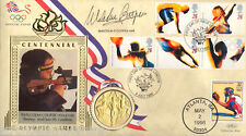 More details for 1996 olympics - benham gold medal official - signed by malcolm cooper mbe