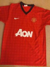 2b20a6384 Manchester United Wayne Rooney 10 Shirt medium men s Nike Vintage Utd  football