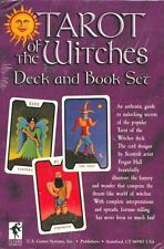 Tarot of the Witches decks and book set, Fergus Hall St R.Kaplan new and sealed