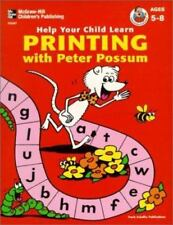 Help Your Child Learn: Printing with Peter Possum by Frank Publications, Inc. St