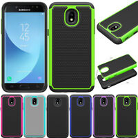 Hybrid Shockproof Case Rugged Phone Cover For Samsung Galaxy J3 2018/Orbit/Sol 3