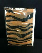 Wild Animal Striped Flesh Colored Pantyhose Zebra Tiger Elegant Moments Lingerie