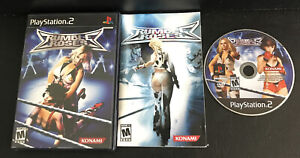 Rumble Roses Konami Sony PlayStation 2 2004 PS2 Complete CIB Black Label