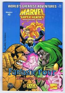 Fantastic Four: Fantastic Voyages (Marvel Super Heroes Adventure 1999 TSR Inc.)