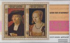Aden - Kathiri Toestand Block21A (compleet.Kwestie.) postfris MNH 1968 Schilderi