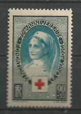 N° 422 75 ème anniversaire de la croix rouge  neuf ** année 1939